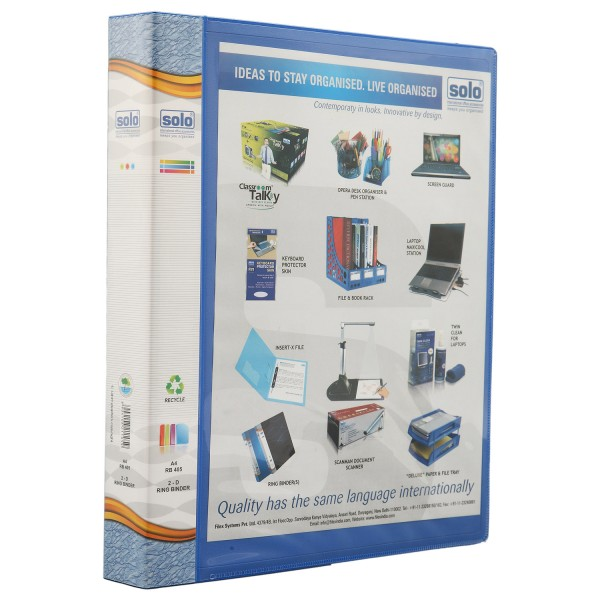 Ring Binder-2d-Ring - A4 (RB405)
